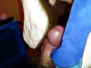 High Heel Cummed Again