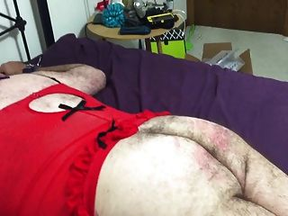 Sissy David Gets Spanked By His Mistress