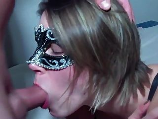 Masked Blow Job