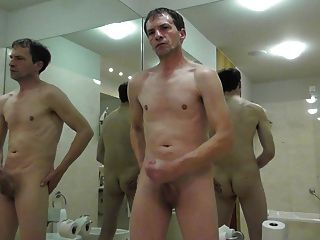 Wank In A Hotel Bathroom