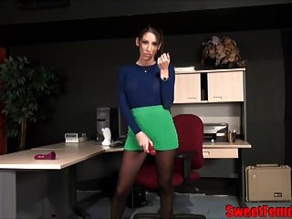 Your Secretary Found Your Dildos