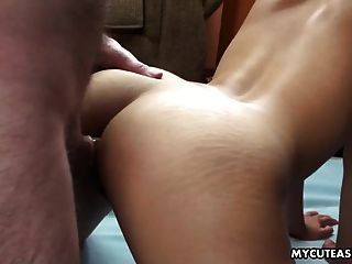 Tight Asian Teen With A Hot Ass Gets Bum Fucked
