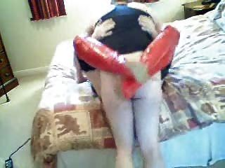 Ass Fucked In Red Pvc Boots!