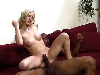 Babe Teases Camera Taking A Bbc Creampie