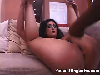 Big Ass Milf Enjoying A Hard Black Boner