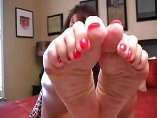 Milfs Feet Joi.n Jerk Off Instruction