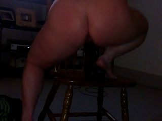 Wife Riding Her Big Toy