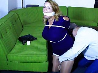 Lady Must Stay In Bondage!