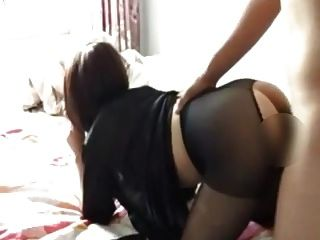 Chinese Girl Talks To Mom On The Phone And Gets Fucked