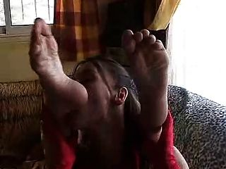 Tatiana & Dhelia Foot Fetish Part 1