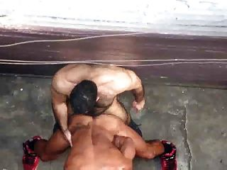 Muscle Hunks Fuck In Alley