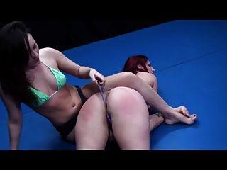 Lesbian fight humiliation