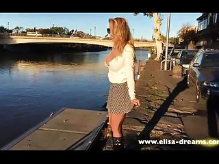 Flashing My Body In The City Of Agde