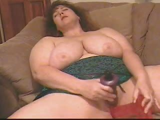 Bbw - Princess Masturbating With 2 Dildos