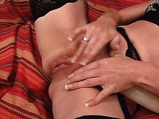Hottie In Lingerie Masturbating Solo