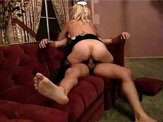 Blonde Granny Slut ( By Hotdany)