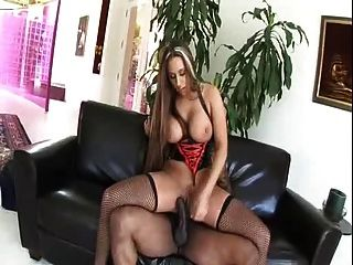 Milf Alisandra Monroe In Sexy Outfit Takes Bbc In The Ass