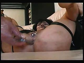 Hot Playing With My Slut Old Wife
