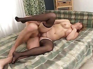 Chubby Granny In Fucking Action