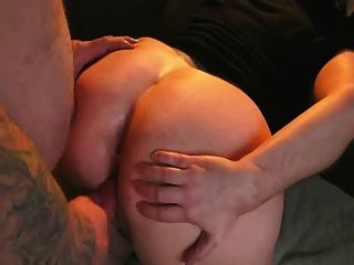 Fucking Her Both Holes From Behind