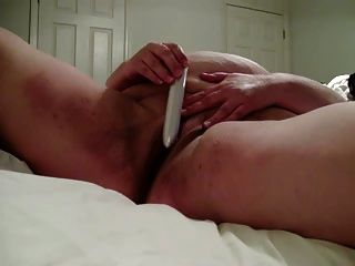 Bbw Wife Playing With Her Pussy, Self Filmed!!!