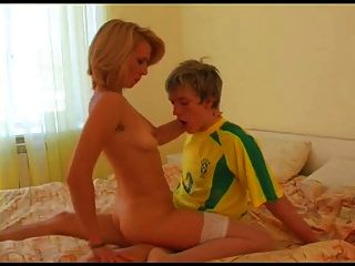 Classy Milf Loves Young Cock Bvr