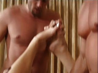 British Slut Donna Gets Double Anal On The Bed
