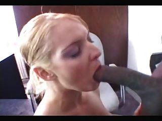 Lusty Blonde Gets Bbc Ass Fucked