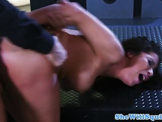 Busty Squirting Milf Getting Her Ass Fucked