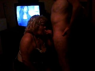 My Slutty Wife Sucking Cock  In A Motel Room