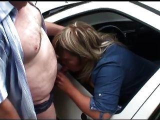 Chubby Daddy With Slut