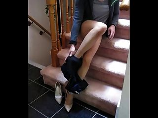 Amateur Cd Stroking In Pantyhose