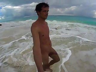 Str8 Men Jerk Off In Cuba Beach Playa