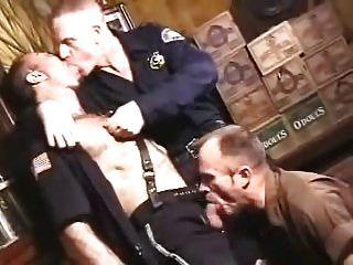 Smoking Cops & Delivery Man