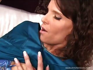 Sexy Mom Seduces Not Her Well Hung Stepson