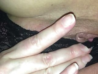 Wife Rubbing Herself So Strangers Can Watch