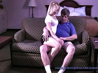 Andreanna Peace - Babysitter Blowjob Training