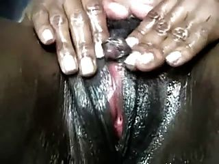Oiled Up And Spread Black Chick