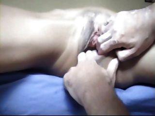 Fist Foot Fuck Milk Bottle Pussy Dilatation