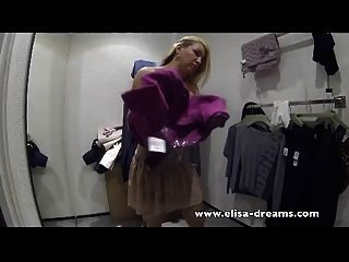 Dirty Sucking A Guy In A Fitting Room