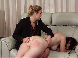 girl spank nackt