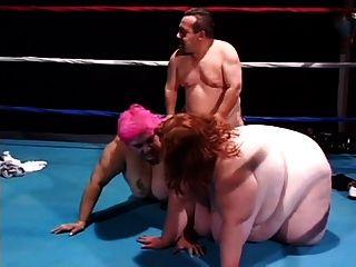 Huge Wrestlers Tag Team The Reff