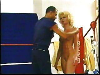 Naked Oil Wrestling