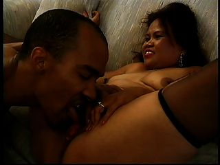 Hot Bbw Mature Asian Sarah Works A Dildo And Gets Plowed