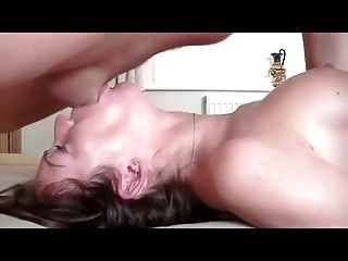 Amateur Throat Fucked