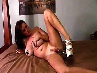 Very Sexy Pussy Wine Bottle Insertion!