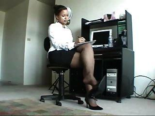 Beautiful Ebony Legs