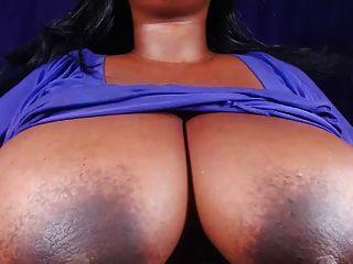 Bbw Shows Big Tits And Hard Nipples