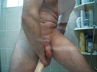 Enema In The Shower And Big Double Dong In My Ass