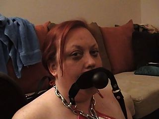 Dildo Gag Deepthroat Training